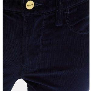 FRAME Womens High-Rise Corduroy Skinny Pants US 24